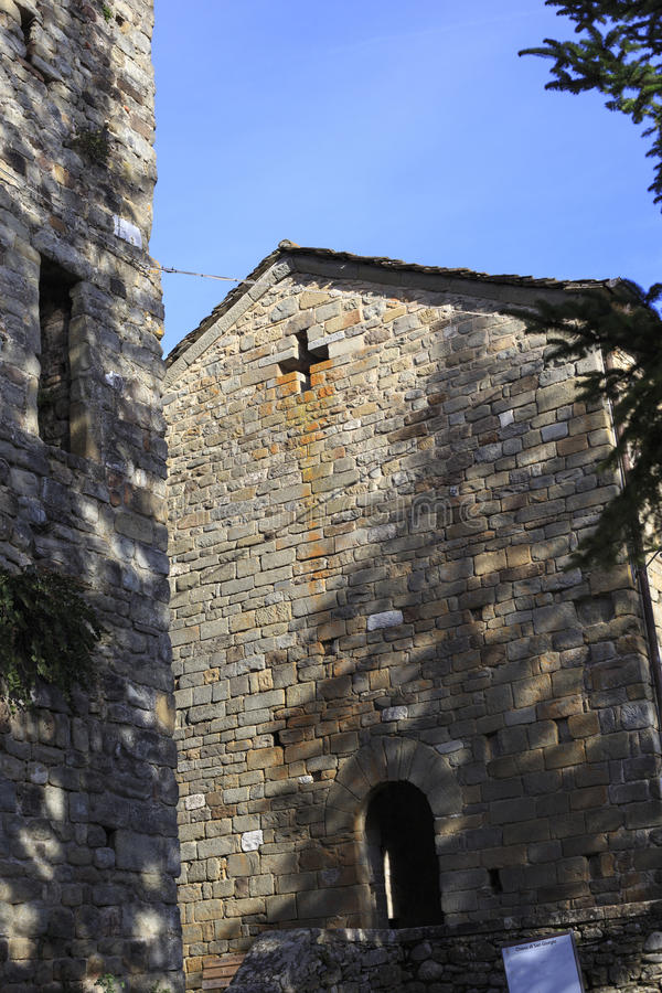 Chiesa antica, Italia immagini stock libere da diritti