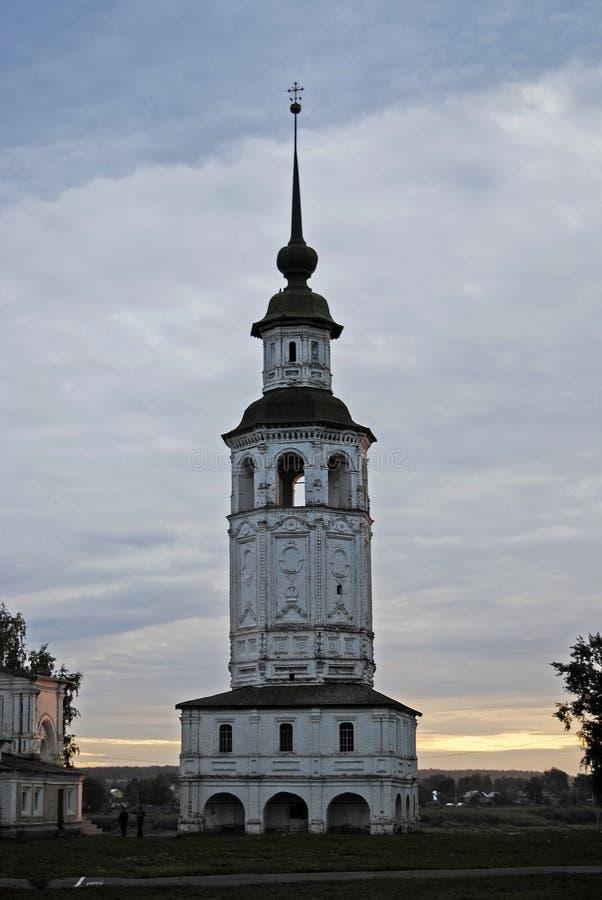Chiesa antica in Veliky Ustyug fotografie stock libere da diritti
