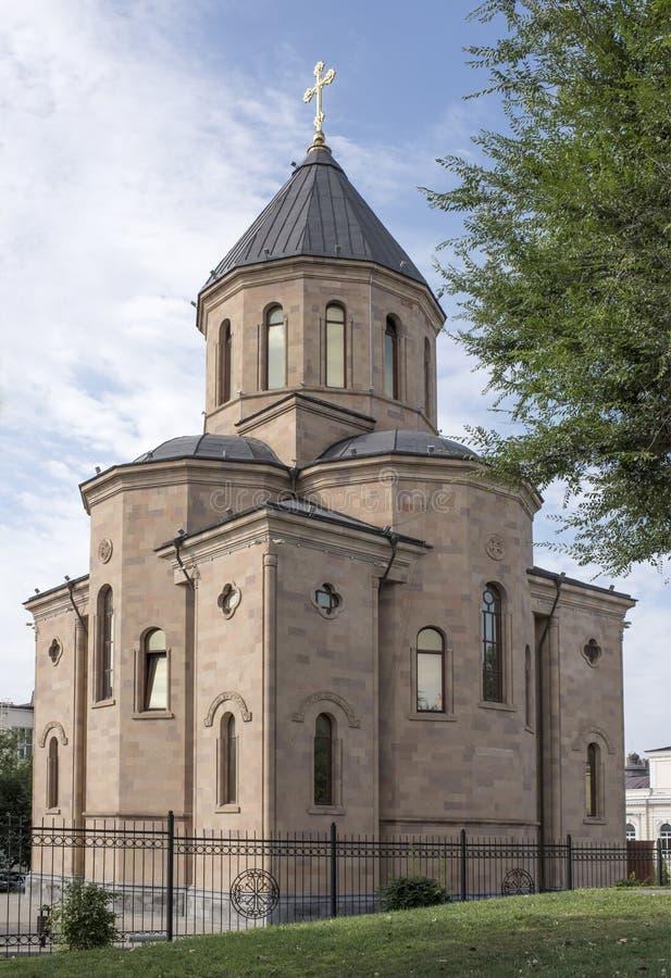 Chiesa apostolica armena di Surb Harutyun (resurrezione della st) fotografia stock