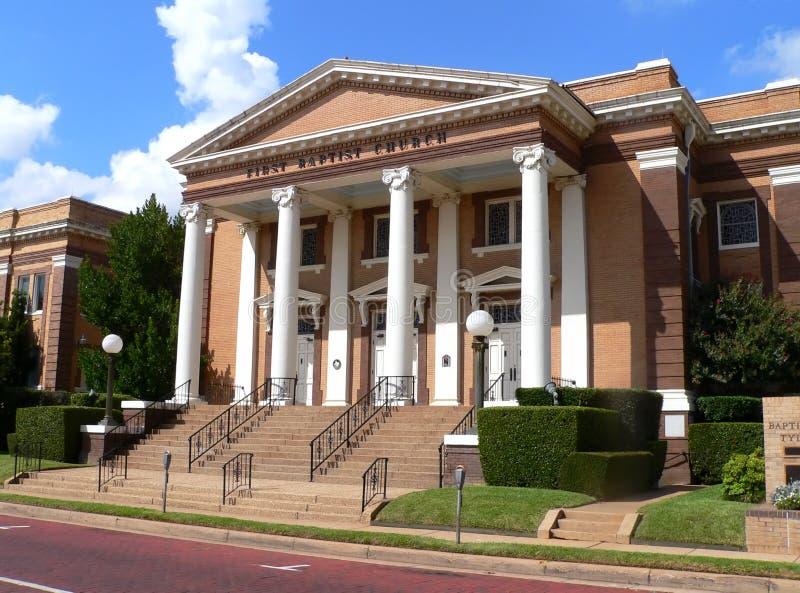 Chiesa battista storica fotografia stock
