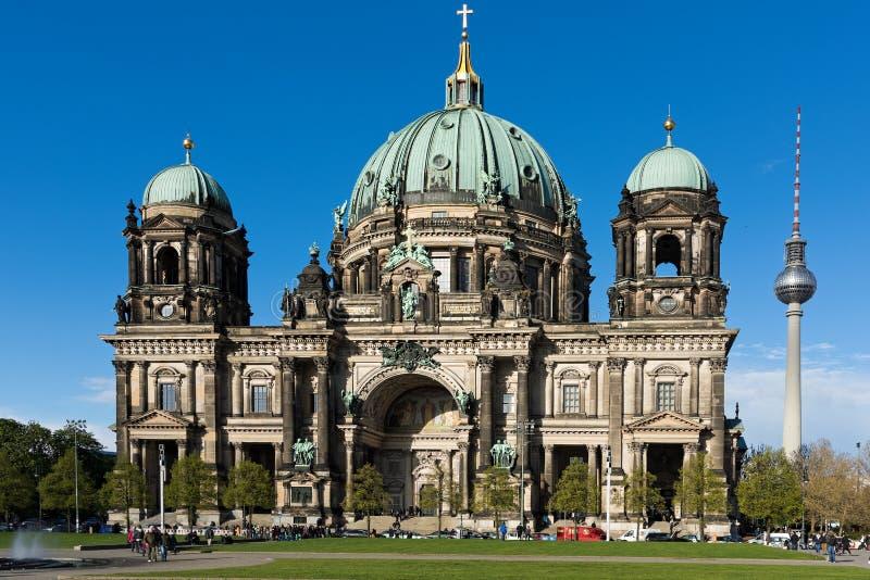 Chiesa a Berlino fotografia stock