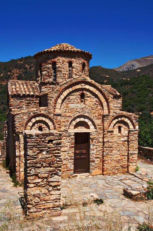 Chiesa bizantino fotografia stock libera da diritti