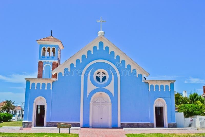 Chiesa blu immagini stock libere da diritti
