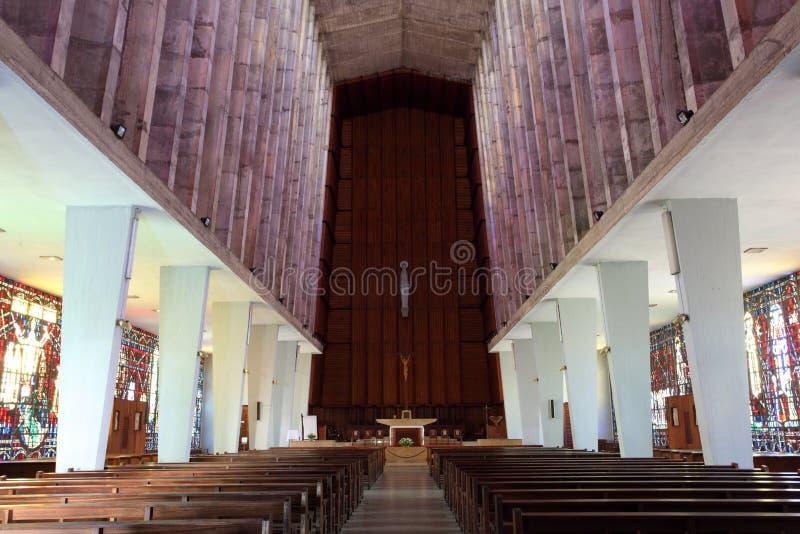 Chiesa a Casablanca, Marocco fotografie stock libere da diritti