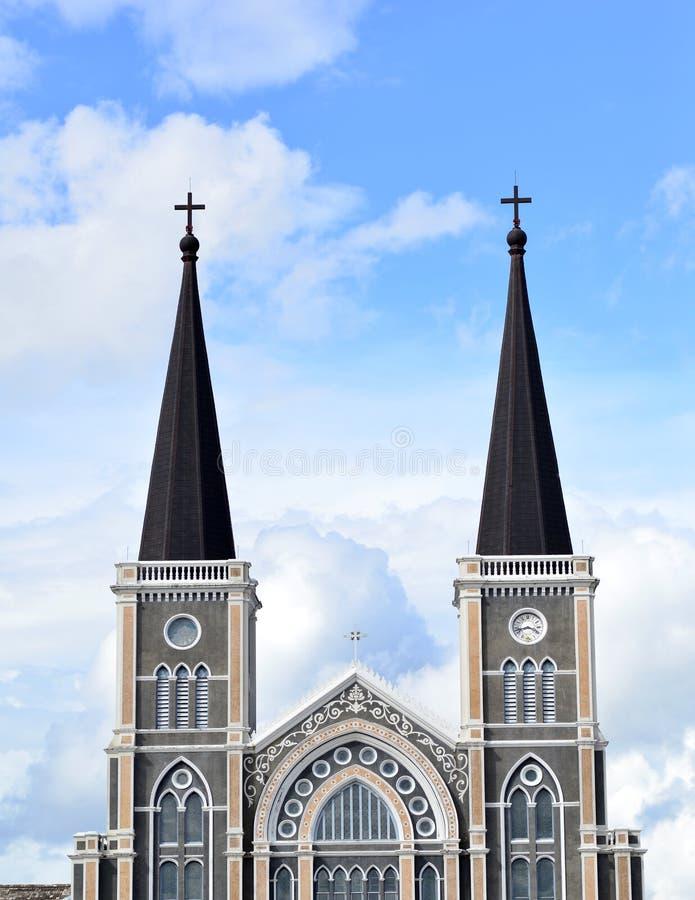 Chiesa cattolica fotografie stock libere da diritti