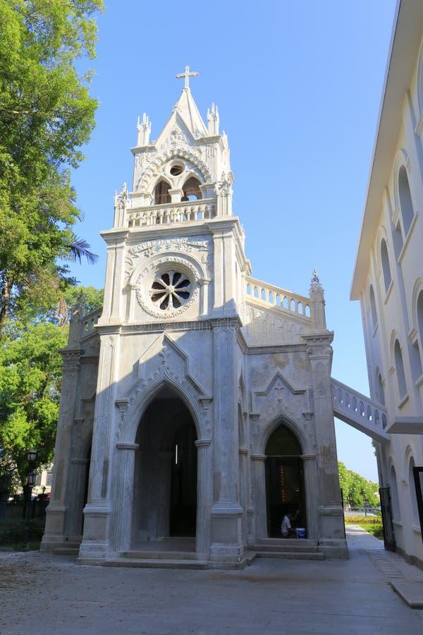 Chiesa cattolica di Gulangyu nella città di xiamen, porcellana immagine stock libera da diritti