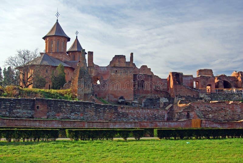 Chiesa centrale della fortezza di chindia fotografie stock libere da diritti