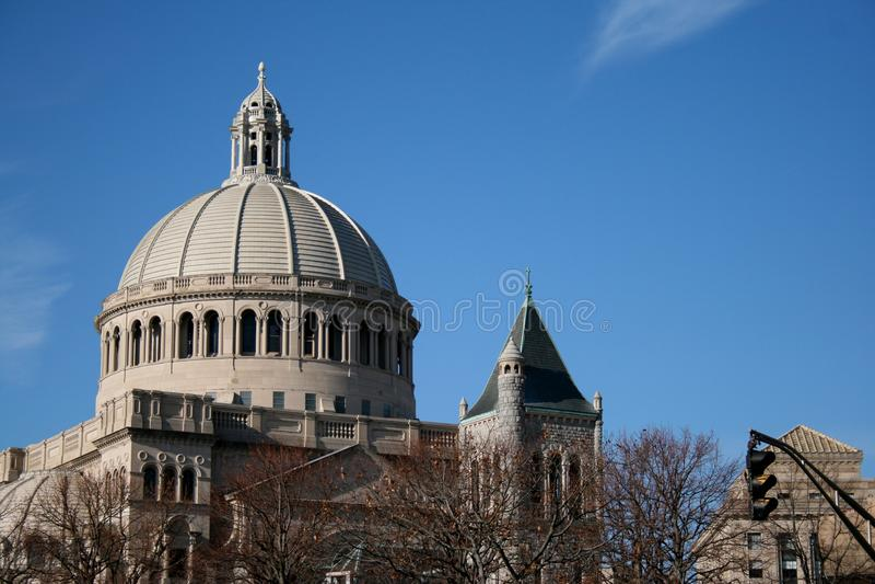 Chiesa a Christian Science Center immagine stock libera da diritti