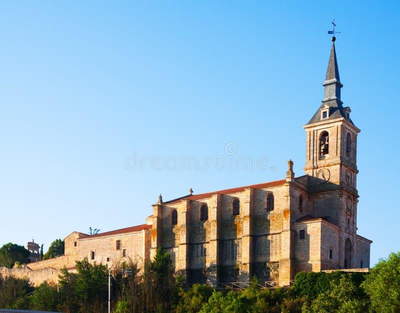 Chiesa collegiale di San Pedro a Lerma immagine stock libera da diritti