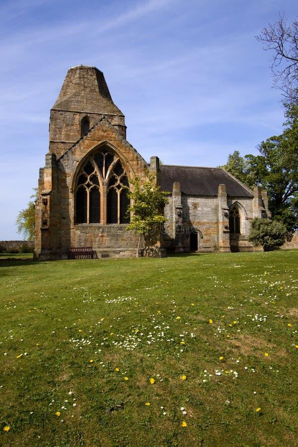 Chiesa collegiale di Seton, Edinburgh, Scozia fotografie stock libere da diritti