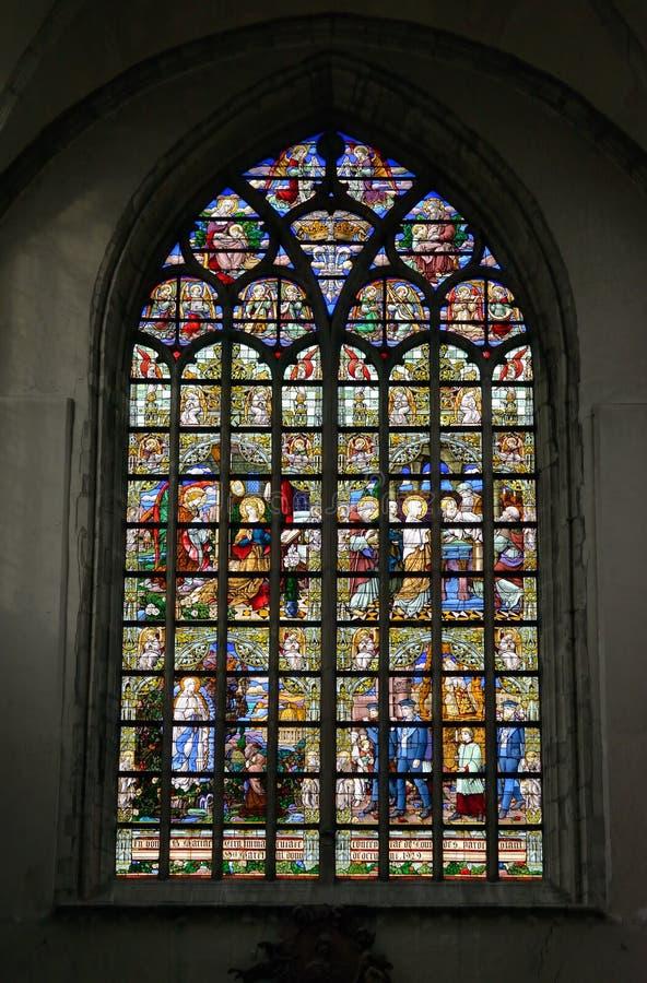 Chiesa collegiale St Martin fotografie stock libere da diritti