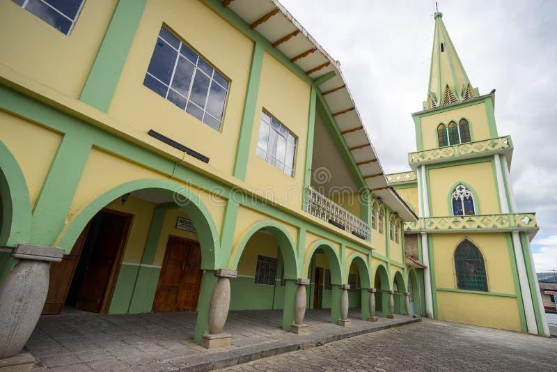 Chiesa coloniale fotografie stock libere da diritti