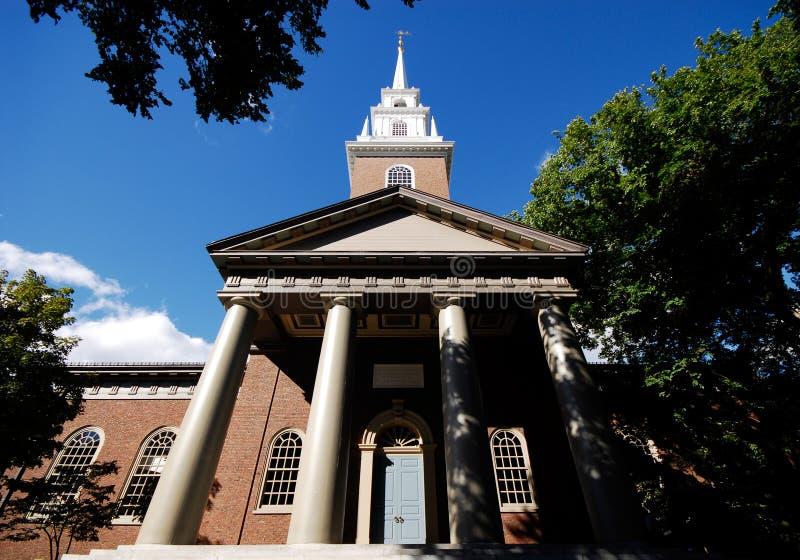 Chiesa commemorativa, Harvard immagine stock