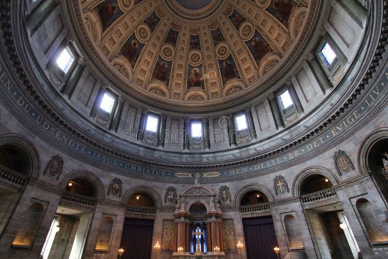 Chiesa a Copenhaghen immagini stock libere da diritti