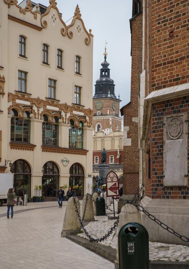 Chiesa cristiana cattolica a Cracovia, Polonia fotografia stock libera da diritti