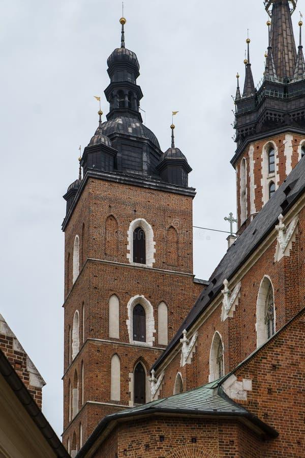 Chiesa cristiana cattolica a Cracovia, Polonia immagini stock libere da diritti