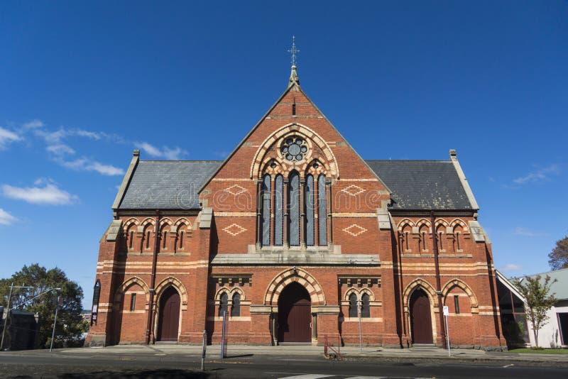 Chiesa d'unificazione centrale, Ballarat, Australia fotografia stock libera da diritti