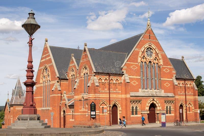 Chiesa d'unificazione centrale di Ballarat immagine stock