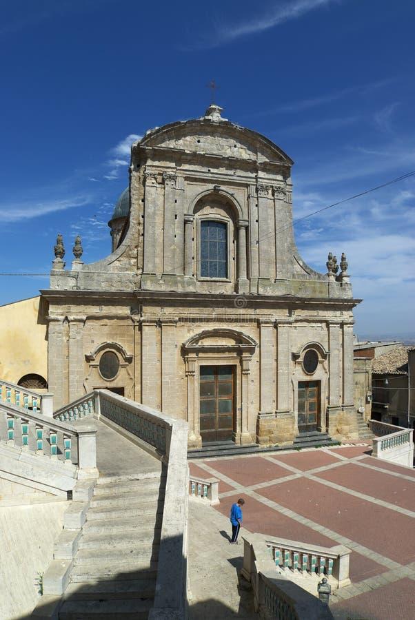Chiesa de Caltagirone images libres de droits
