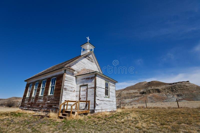 Chiesa dei calanchi fotografia stock