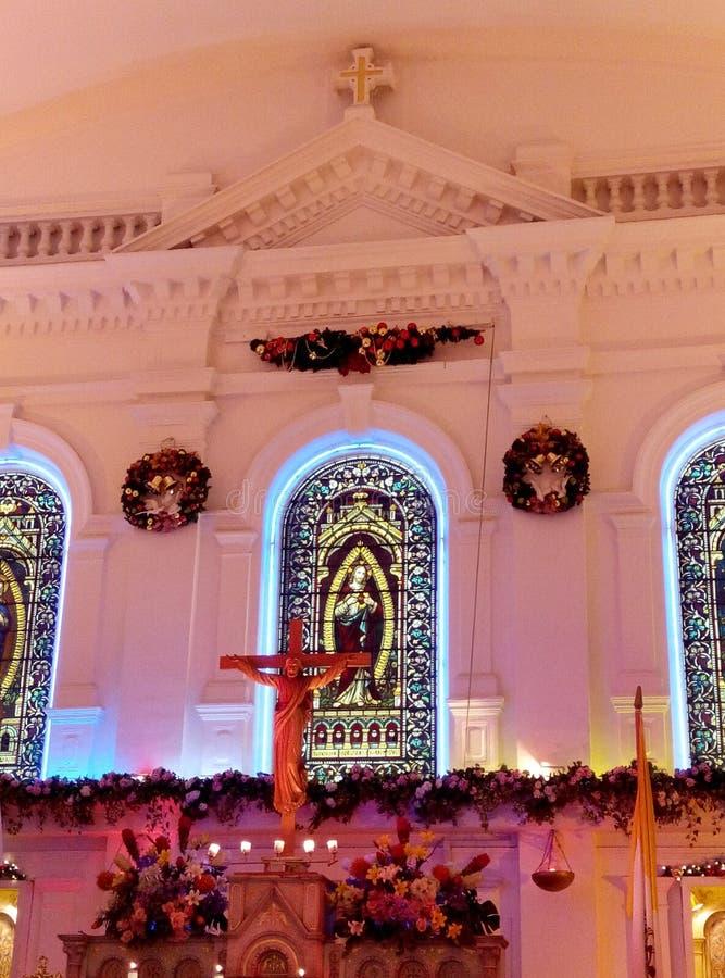 Chiesa dei cuori sacri immagine stock