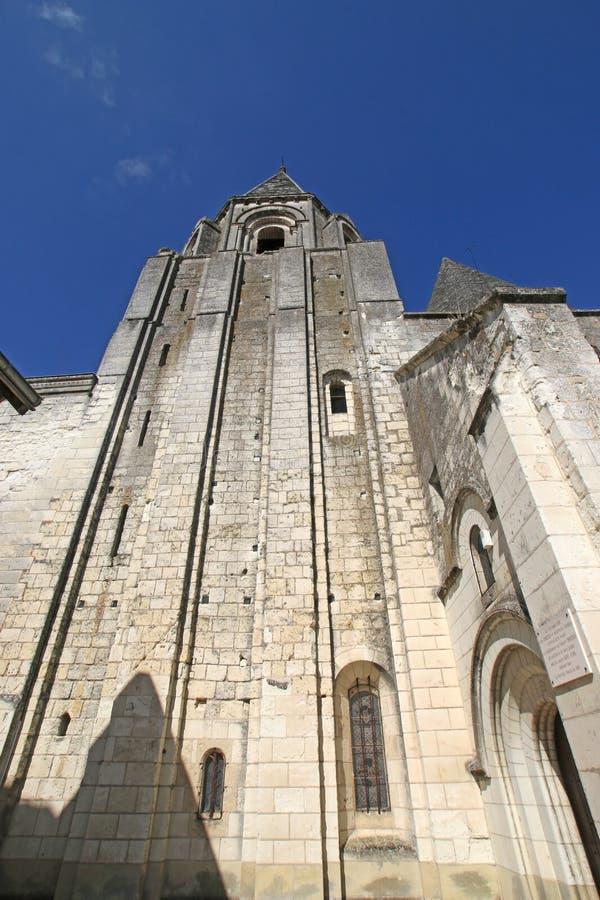 Chiesa dei remi della st, Loches fotografia stock