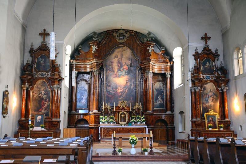 Chiesa del cappuccino, Vienna, Austria fotografie stock