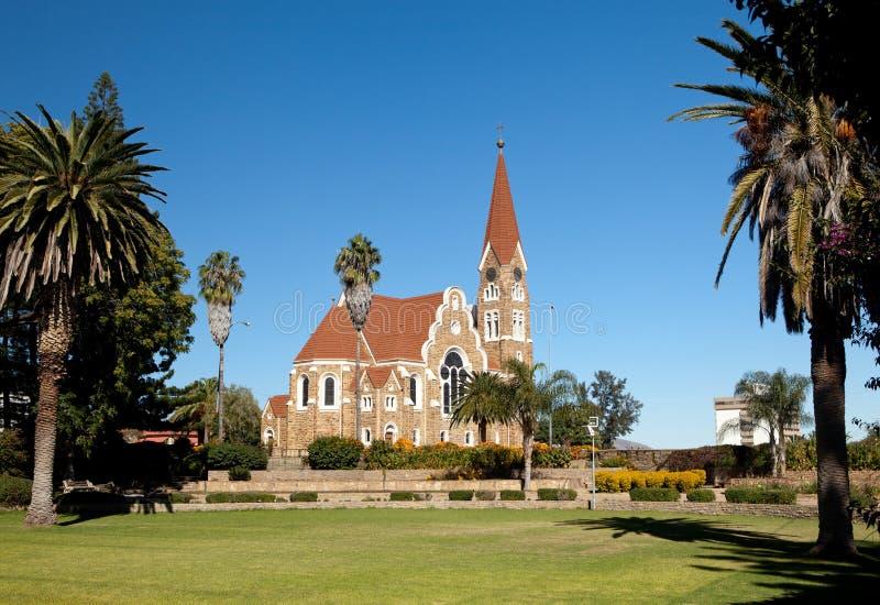 Chiesa del Christ, Windhoek immagine stock libera da diritti