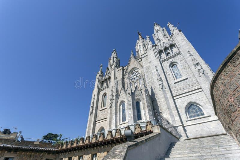 Chiesa del cuore di Sagrat fotografie stock