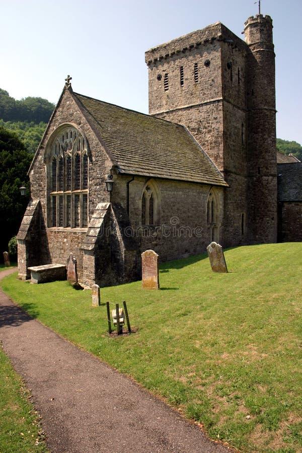 Chiesa del Devon fotografia stock libera da diritti