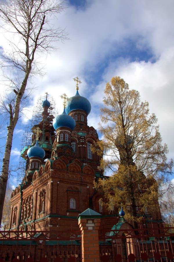 Chiesa del Intercession della Vergine Santa fotografia stock libera da diritti