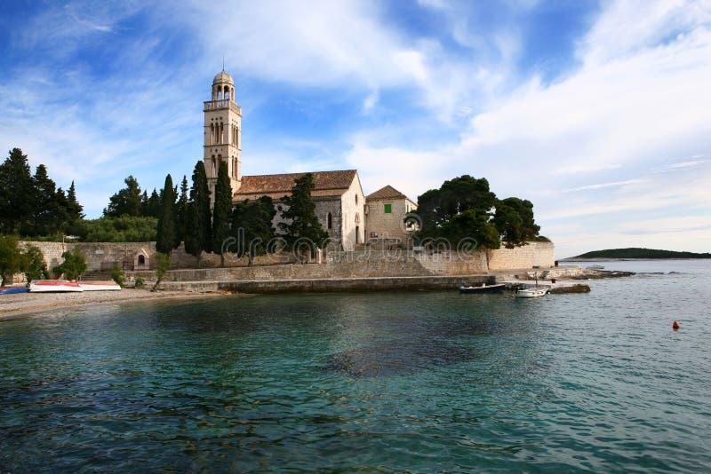 Chiesa del monastero fotografie stock libere da diritti