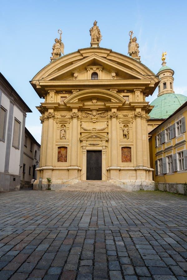 Chiesa del ` s di Catherine del san a Graz, Austria immagine stock libera da diritti