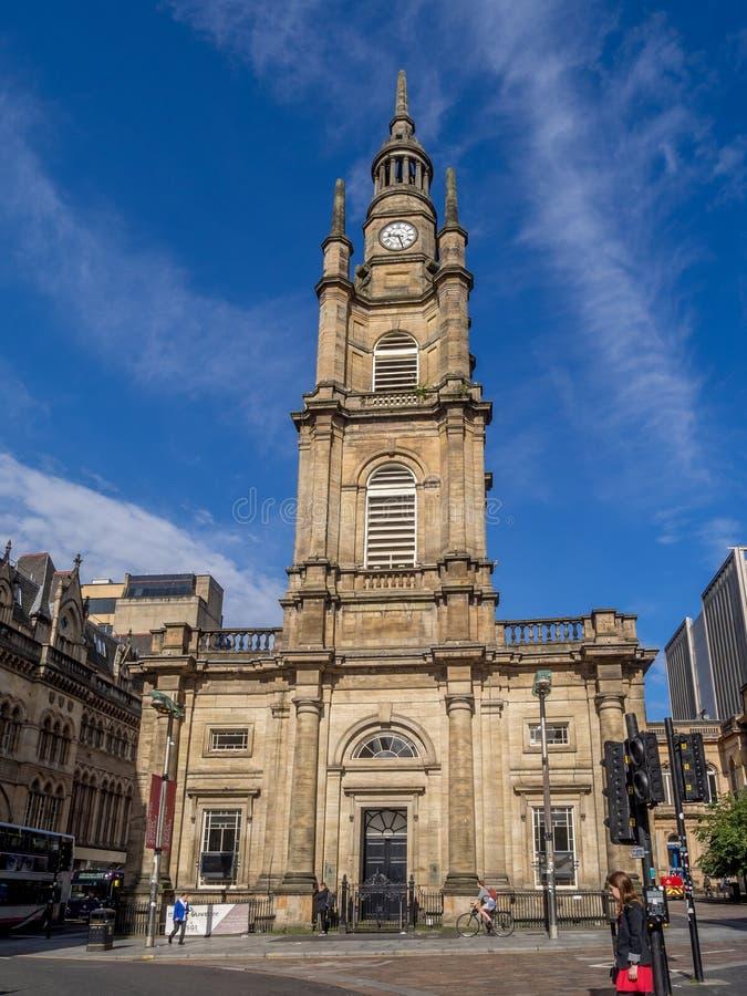 Chiesa del ` s Tron di St George fotografia stock libera da diritti