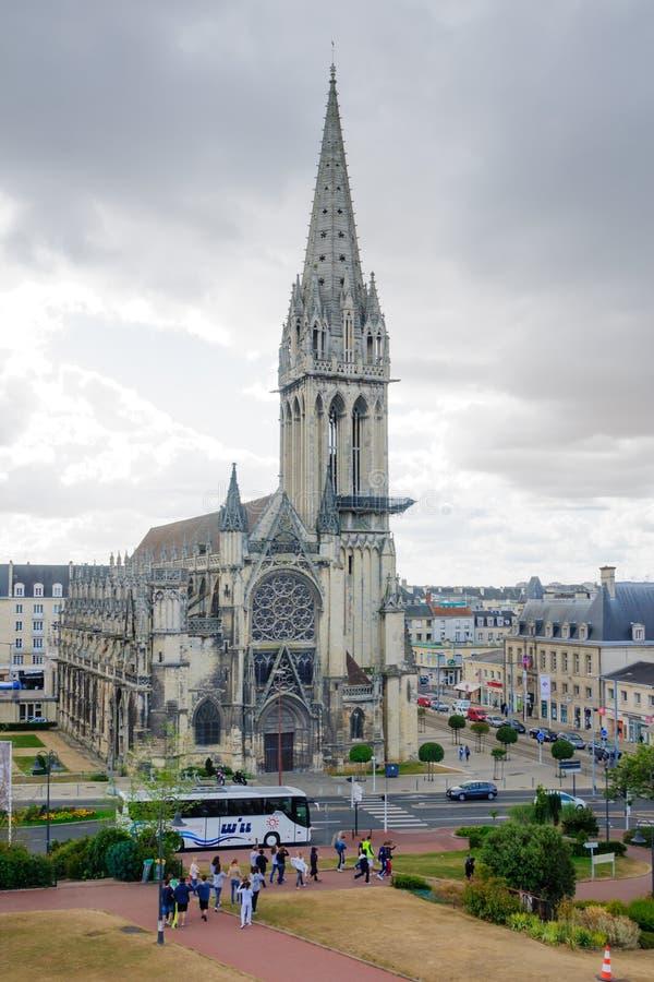 Chiesa del Saint Pierre, Caen fotografia stock