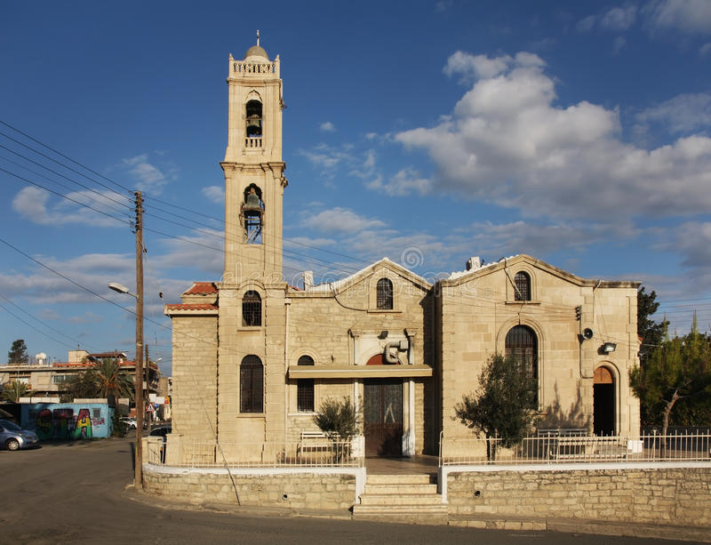 Chiesa del san Antony a Limassol cyprus immagini stock