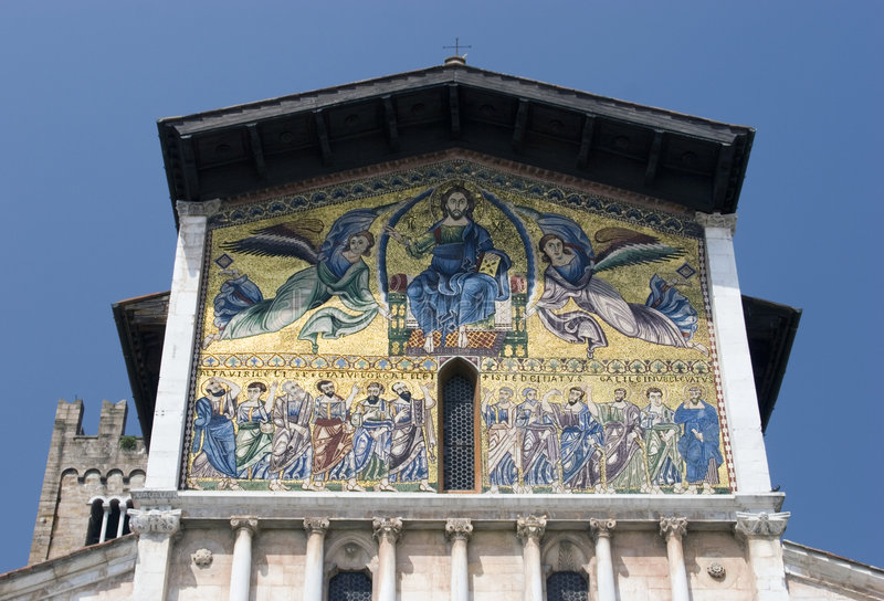 Chiesa del San Frediano fotografia stock
