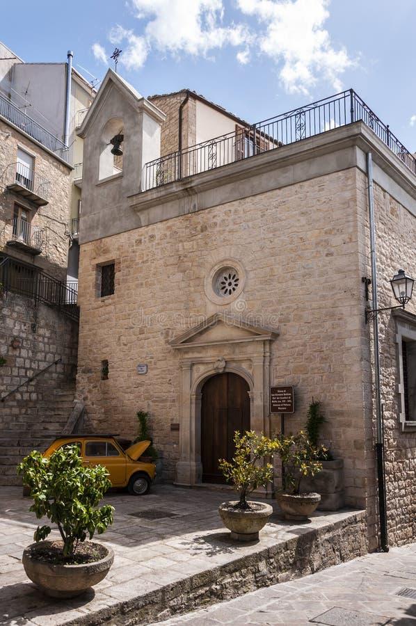 Chiesa del san Giovanni Battista immagine stock