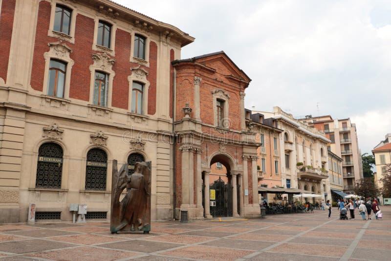 Chiesa del san Martha a Monza, Italia fotografie stock