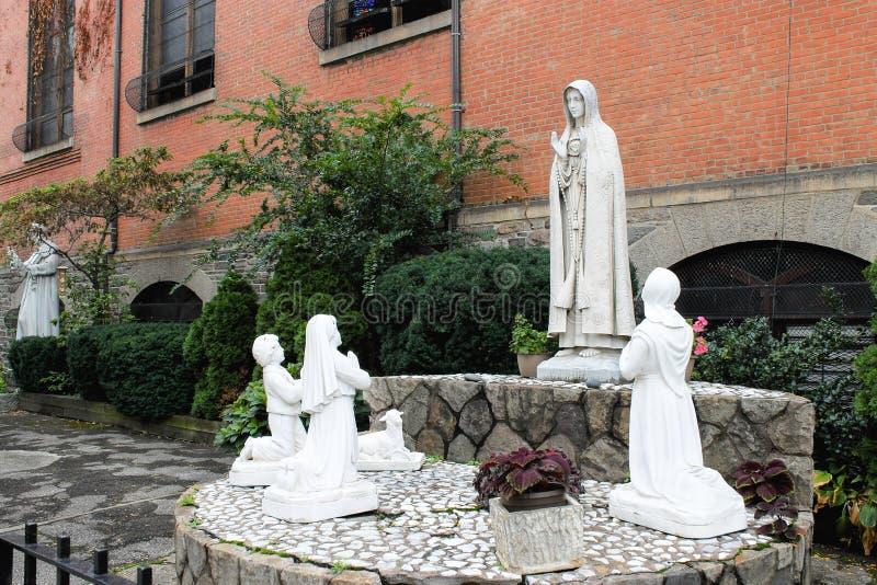 Chiesa del santuario di St Anthony di Padova, New York fotografia stock libera da diritti