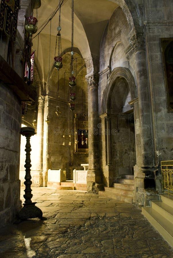 Chiesa del Sepulchre santo, Gerusalemme fotografie stock