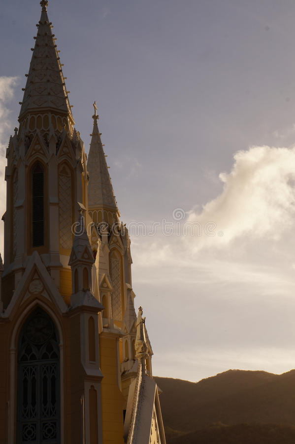 Chiesa del vergine della valle fotografie stock libere da diritti