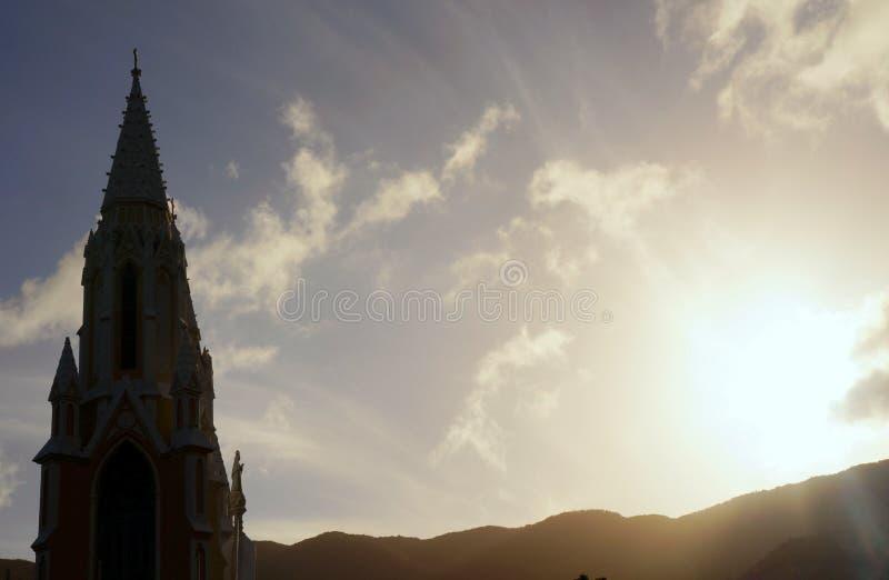 Chiesa del vergine della valle immagine stock