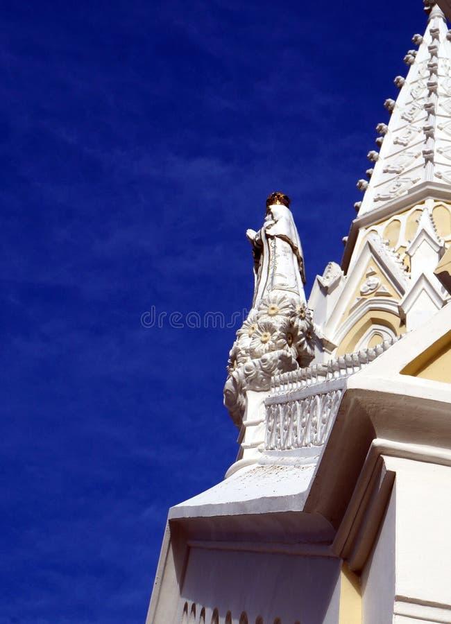 Chiesa del vergine della valle immagini stock libere da diritti
