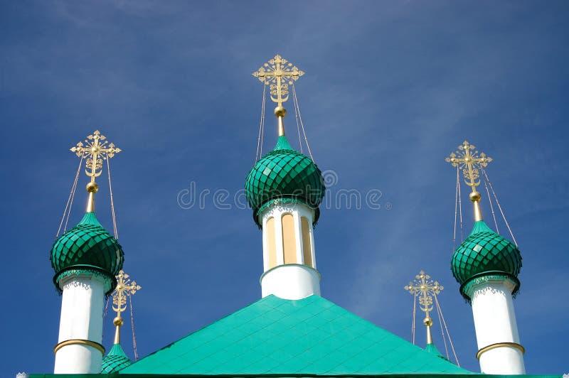 Chiesa dell'annata in Russia immagini stock