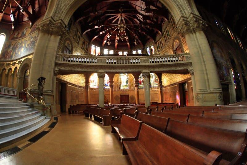 Chiesa dell'università di Stanford fotografia stock libera da diritti