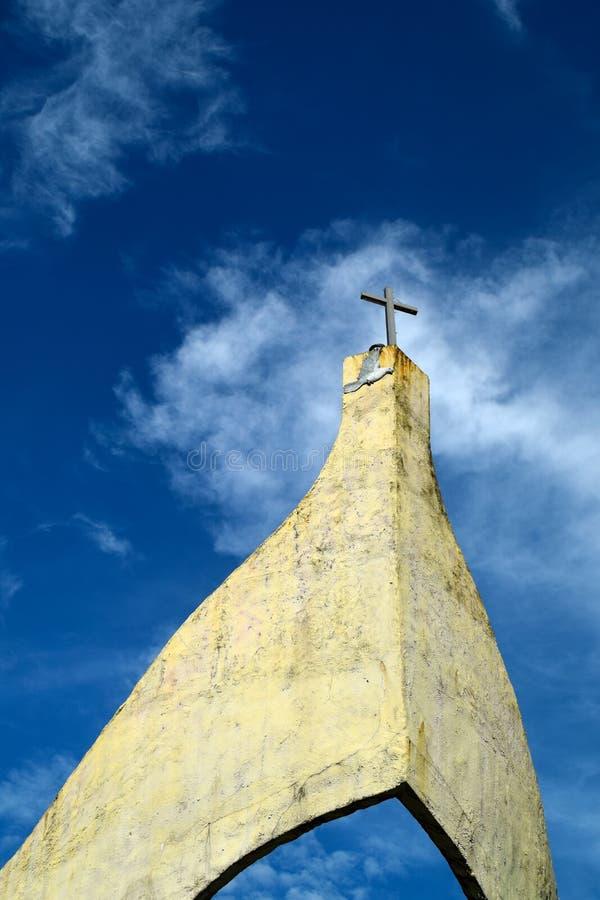 Chiesa della barca immagini stock