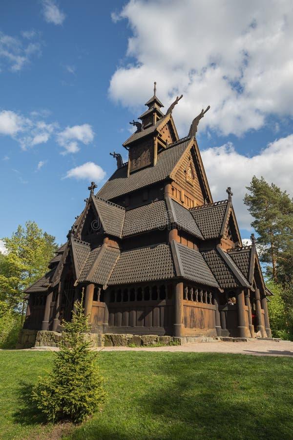 Chiesa della doga di Gol fotografie stock