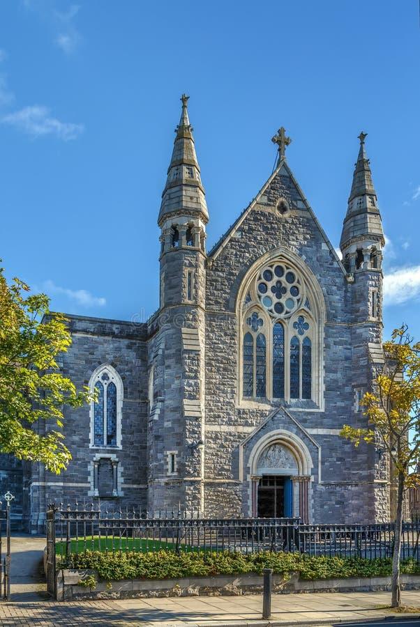 Chiesa della famiglia santa, Dublino, Irlanda fotografia stock