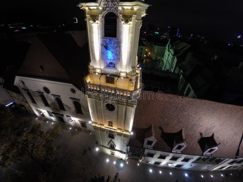 Chiesa della gesuita a Bratislava fotografia stock